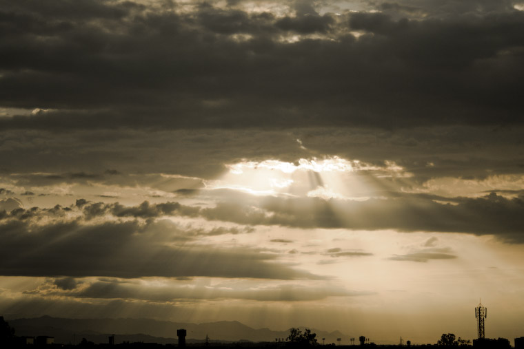Rays over Mohali